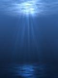 Subaquático Imagens de Stock Royalty Free