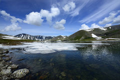 Subarctic Ural, Patok Lake Stock Image