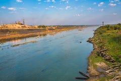 Subarnarekha rzeka Obrazy Royalty Free