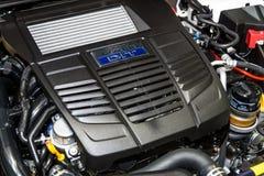 Subaru拳击手DIT引擎Subaru LEVORG 1 6个GT-S 库存照片