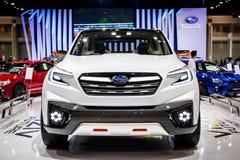 Subaru汽车被显示在泰国第37国际Motorshow 2016年 免版税图库摄影