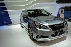 Subaru遗产, 2014个CDMS 免版税库存照片