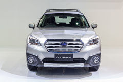Subaru à l'intérieur 2015 Images stock