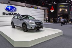 Subaru на экспо 2016 мотора Таиланда международном Стоковое Фото
