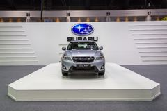 Subaru на экспо 2016 мотора Таиланда международном Стоковые Изображения RF