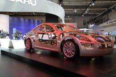 Subaru on 64rd IAA Stock Images