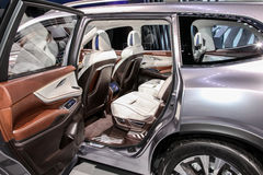 Subaru Ascent concept shown at the New York International Auto S Stock Images