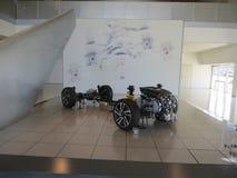 Subaru automobile museum in Japan stock photography