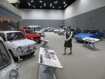 Subaru automobile museum in Japan royalty free stock photo