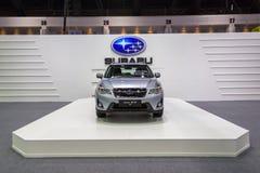 Subaru bij de Internationale Motor Expo 2016 van Thailand Royalty-vrije Stock Afbeeldingen