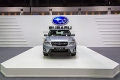 Subaru bij de Internationale Motor Expo 2016 van Thailand Stock Foto's