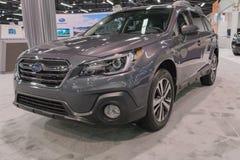 Subaru-Binnenland op vertoning Royalty-vrije Stock Foto