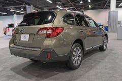 Subaru-Binnenland 3 6R op vertoning Stock Foto