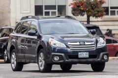 Subaru-Binnenland SUV Royalty-vrije Stock Foto