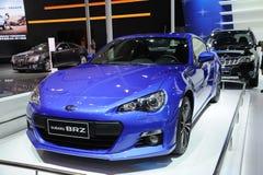 Subaru bleu BRZ Images stock