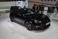 Subaru BRZ al salone dell'automobile di Ginevra Fotografia Stock