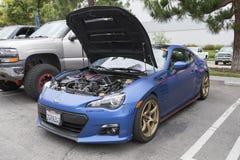 Subaru BRZ on display Stock Photos