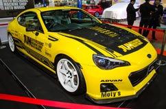 Subaru BRZ Jun Auto Mechanic car on display at Bangkok Internati Royalty Free Stock Images