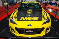 Subaru BRZ Jun Auto Mechanic car on display at Bangkok Internati Royalty Free Stock Photography