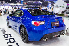 Subaru BRZ 2 na expo internacional do motor de Tailândia Imagem de Stock Royalty Free
