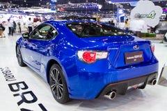 Subaru BRZ 2 på expo för Thailand Internationalmotor Royaltyfri Bild