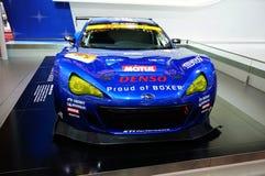 Subaru. Car racing in the 2013 Shanghai international auto show Royalty Free Stock Photography
