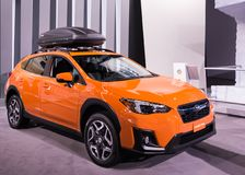 Subaru 2018 Crosstrek, NAIAS Images stock