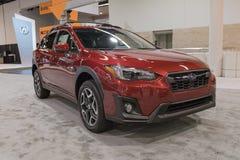 Subaru Crosstrek su esposizione fotografie stock libere da diritti