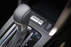 Subaru-de Testaandrijving van de Houtvester 2014 Optie op 12 Mei 2014 in Hong Kong Stock Foto
