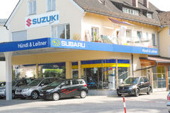 Subaru dealership Royalty Free Stock Photography