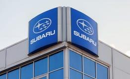 Subaru dealership sign Royalty Free Stock Image