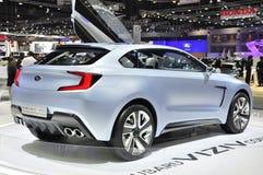 Subaru displays its 3-door concept car the Viziv Stock Photos