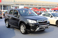 Subaru-Förster suv Stockfoto