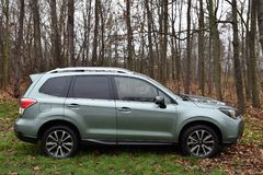 Subaru Forester. In Predboj, Czech republic, December 15, 2016 Royalty Free Stock Image