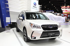 Subaru Forester 2.0 XT car on display Royalty Free Stock Images