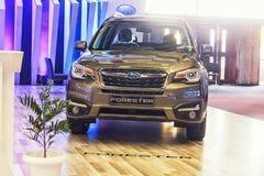 Subaru-Houtvester stock fotografie