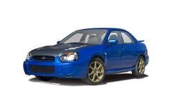 Subaru Imbreza. Isolated on white Royalty Free Stock Photos