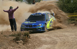 Subaru Impenza Wrc images stock