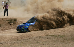 Subaru Impenza Wrc photos stock