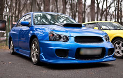 Subaru Impreza Royalty Free Stock Images