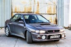 Subaru Impreza zdjęcia royalty free