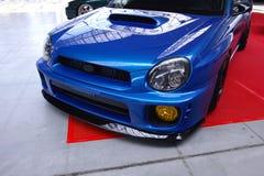 Subaru Impreza ajustado Imagens de Stock Royalty Free