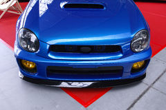 Subaru Impreza ajustado Imagens de Stock