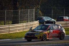 Subaru Impreza rally car at Monza Stock Photos