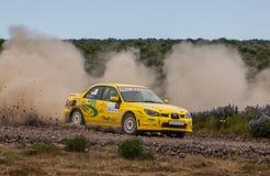 Subaru Impreza Rallycar Stock Image