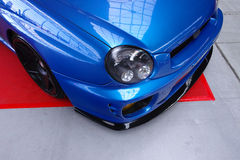 Subaru Impreza sintonizzato Fotografie Stock
