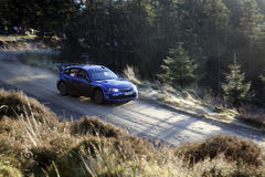 Subaru Impreza World Rally Team - Royalty Free Stock Photography