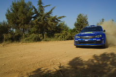 Subaru Impreza WRC 2008 Stock Image