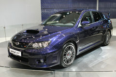 Subaru Impreza WRX STI Royalty Free Stock Images