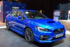 Subaru Impreza WRX STI Royalty Free Stock Photo